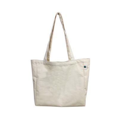 ECV-18OF Fairtrade Organic Canvas Natural Tote Bag Image