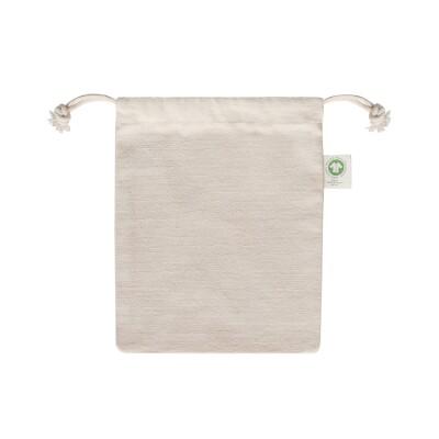 ECV-24 Luxury Organic Cotton Drawstring Bag Image