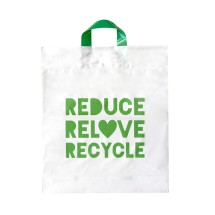 ED-3968 Recyclable Retail/Checkout Bag Medium (100bags) Image