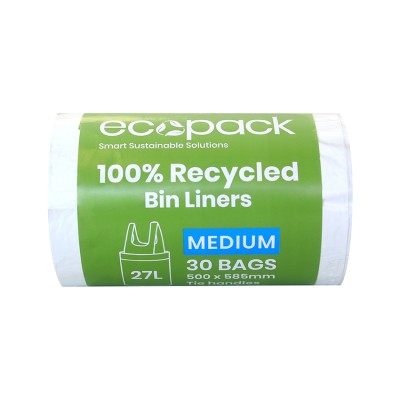 ED-9027 100% Recycled Bin Liner 27L Image