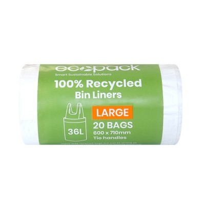ED-9036 100% Recycled Bin Liner 36L Image