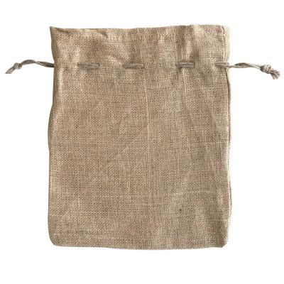 EJ-222 Jute Drawstring Bag Image
