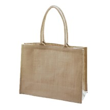 EJ-203 Unlined Shopper Bag Natural Image