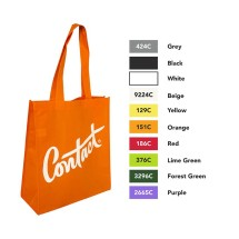 ENW-110 Non Woven Tote With Gusset