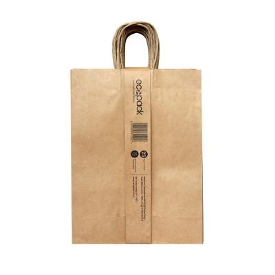 25 X EP-TH02 Twisted Handle Paper Bag – Medium Image