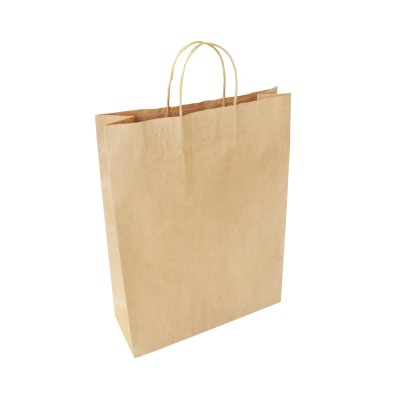 25 X EP-TH03 Twisted Handle Paper Bag – Large Image
