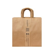25 X EP-TH05 Twisted Handle Takeaway Paper Bag