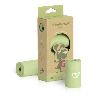 COMP60 Earth Rated Compostable Dog Poop Bags Image