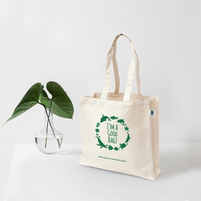 EC-52 Organic & Fairtrade Good Bag Image