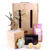 Trees Please! Coffee and Cakes Gift Set