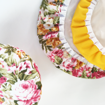 MAVIS & GOLD TRIO | Reusable Bowl Cover Set Image