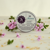 Sage Mama Bump Butter – Rose Geranium & Mandarin