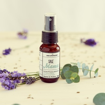 Antibacterial Hand Sanitiser – Eucalyptus & Lavender Image