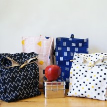 Happy Lunch Bag - Organic Cotton