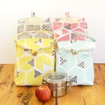 Happy Lunch Bag - Eco Canvas