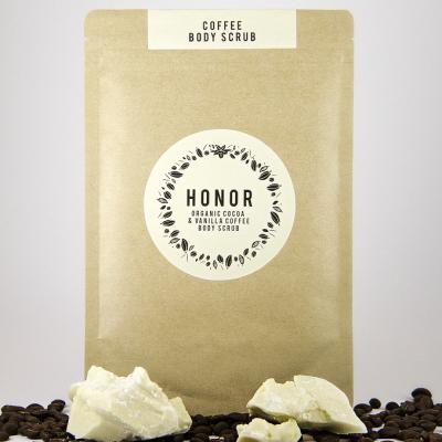 Organic Cocoa and Vanilla Coffee Body Scrub Image