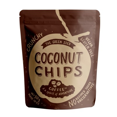 Coconut Chips Coffee Image