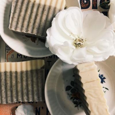 Coffee and Cinnamon Latte Soap Image
