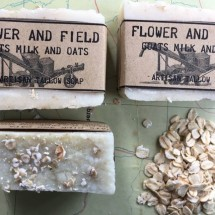Goats Milk and Oats Soap