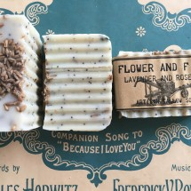 Lavender and Rosemary Soap Image