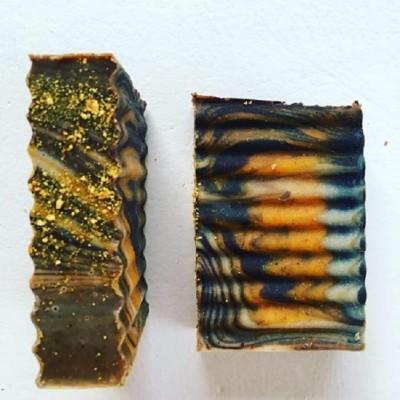 Orange Chocolate Soap Image