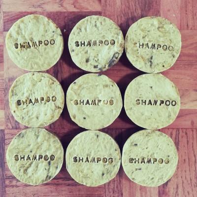 SHAMPOO BAR – PEPPERMINT & LEMON Image