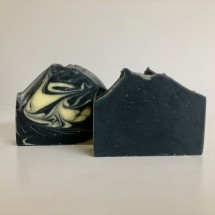 Duo of Charcoal and Clay Facial Soap Bars