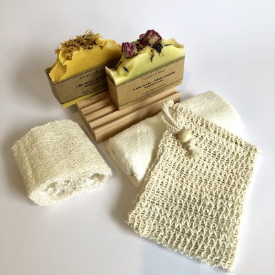 Soap and Accessories Gift Box Image