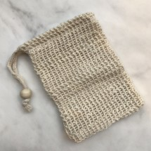 Hemp soap saver bag