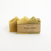 Lime, Ginger + Lemongrass Coconut Milk Soap Bar