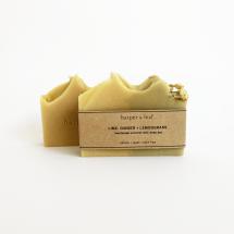 Lime, Ginger + Lemongrass Coconut Milk Soap Bar Image