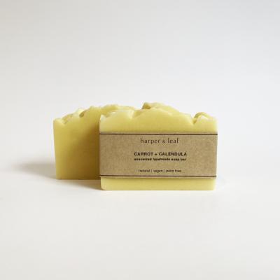 Carrot + Calendula Soap Bar (Unscented) Image