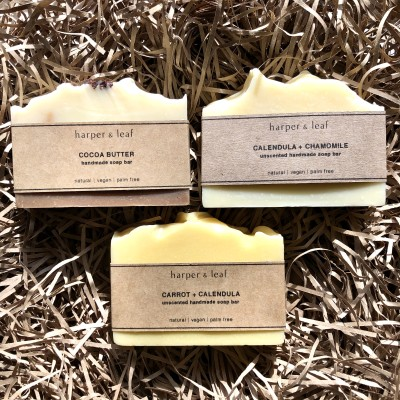 Unscented Soap Bar  Gift Box Image