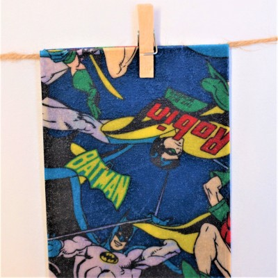 Kids' Collection Beeswax Lunch Food Wraps – BATMAN Image