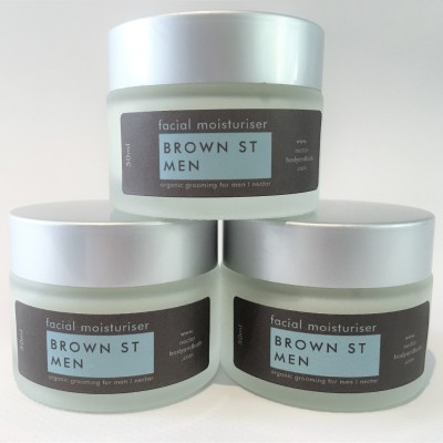 Brown St Men Facial Moisturiser 50ml Image