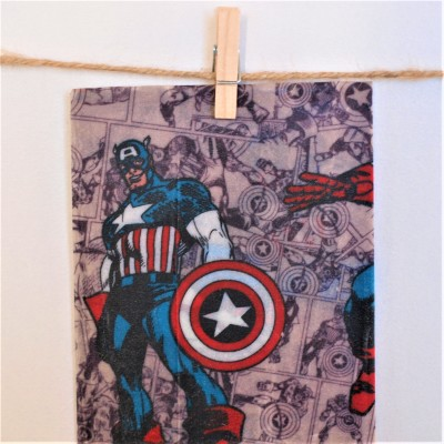 Kids' Collection Beeswax WRAPS – CAPT AMERICA FRIENDS Image