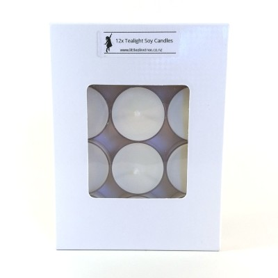 Tealight Soy Candles (12-pack) Image