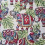 Elephant print tapestry fabric Image