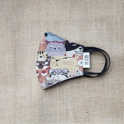 Face Mask Cotton Cartoon Cat Image