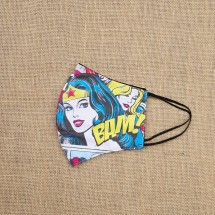 Face Mask Wonder Woman Image