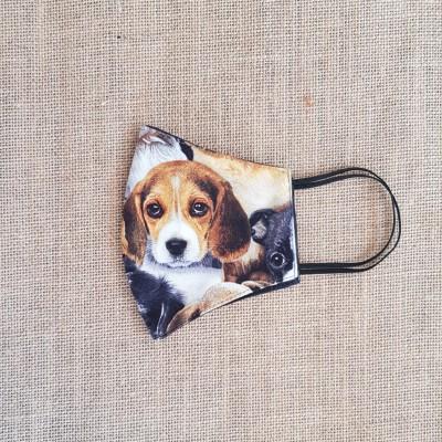 Face Mask Puppy Beagle Image