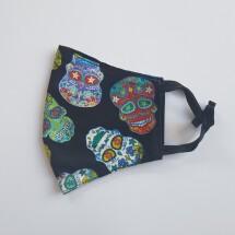 Face Mask Sugar Skull Mexico
