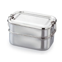 Stainless  Steel  Double Decker Lunch Box