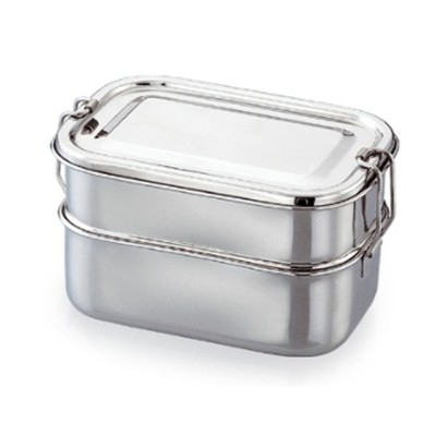 Stainless  Steel  Double Decker Lunch Box Image