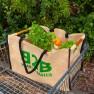 Jute supermarket trolley bag Image
