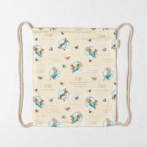 Peter Rabbit Drawstring/ Backpack Bag
