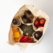Farmers Market Bag With 6 Pockets Image