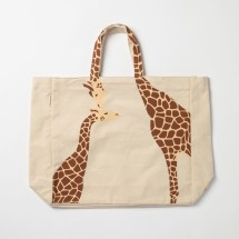 Giraffe tote shoulder bag
