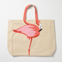 Flamingo Tote Shoulder Bag