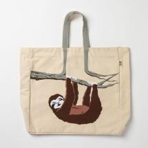 Sloth Tote Shoulder Bag